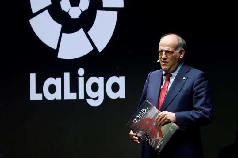 La Liga pide jugar el 'Clásico' el 4 de diciembre. EFE