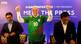 El mandamás de la UEFA habló tras los incidentes del Bulgaria-Inglaterra. EFE