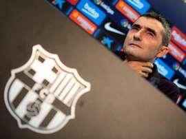 Valverde no quiso entrar en comparaciones con el País Vasco. EFE/Enric Fontcuberta