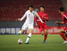 Corea del Norte obligó a que el partido se jugara a puerta cerrada. EFE