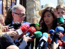María José Rienda habló ante los medios del tema. EFE