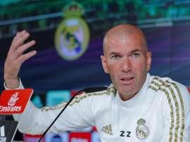 Zidane não quer surpresas antes da Data FIFA. EFE