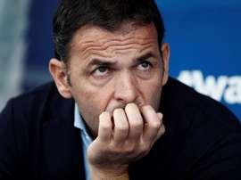 Calleja elogia a atuação de seus jogadores. EFE/Sebastián Mariscal/Archivo