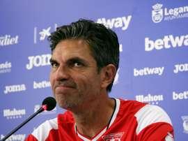Pellegrino não é mais técnico do Leganés. EFE/Carlos Mateos/Archivo