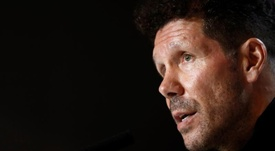 Atlético Madrid are facing Valencia and Simeone is ready. EFE