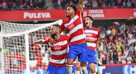 El Granada vence gracias a dos portugueses fundamentales. EFE