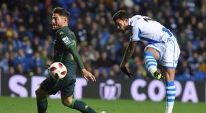 Real Sociedad y Betis acumulan ambos dos jornadas sin ganar. EFE