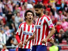 Atletico are getting better results in the Champions League. EFE