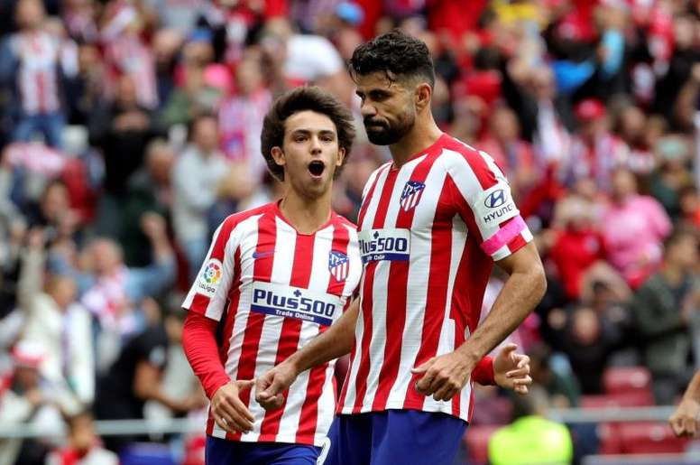 Joao Felix fit again as Atleti and Simeone face up to Costa absence. EFE