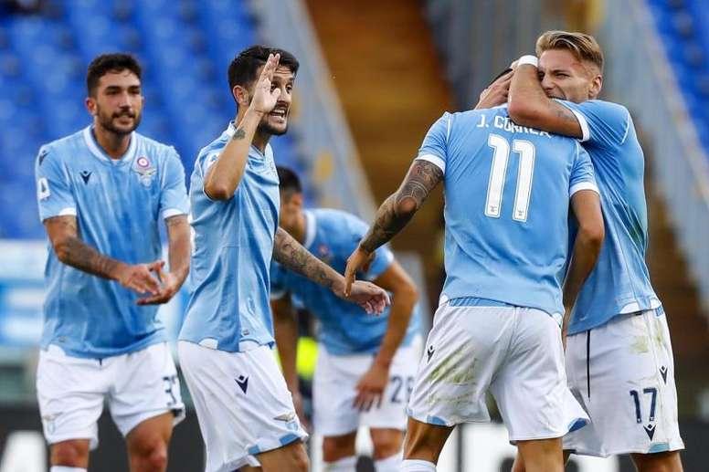 La Lazio igualó un 0-3 favorable a la Atalanta. EFE/EPA/ANGELO CARCONI