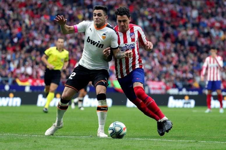 Giménez admitió que estaba preocupado por cómo reaccionaría su pierna. EFE