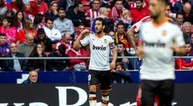 Dani Parejo marcó un golazo y se quedó con ganas de más. EFE