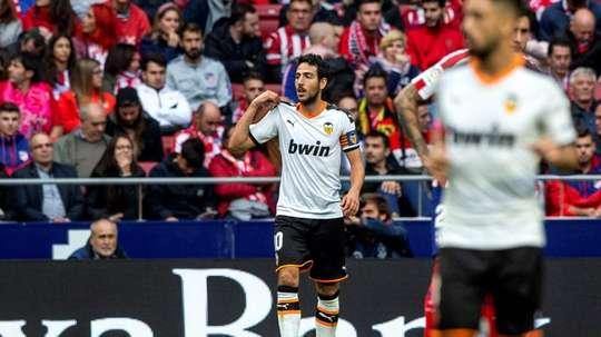 Parejo, ce héros. EFE/Rodrigo Jiménez