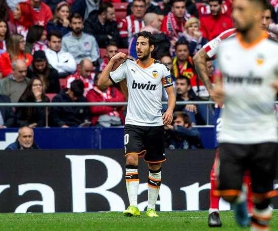 Dani Parejo fez um golaço e ficou com vontade de mais. EFE/Rodrigo Jiménez