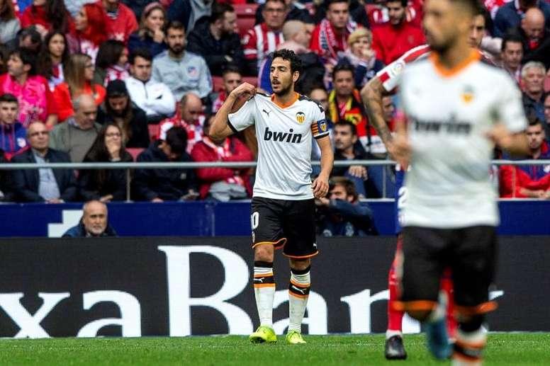El Valencia volvió a jugar al son de Parejo. EFE