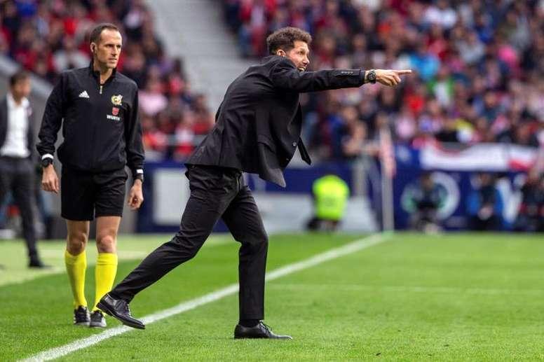 En los últimos partidos, el Atlético ha tirado a puerta 50 veces... y no ha marcado ni un gol. EFE
