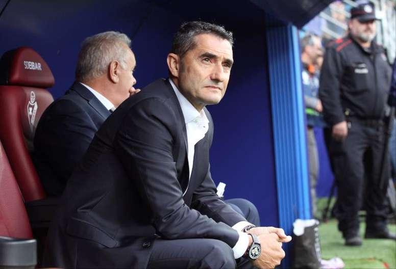 Le Barça domine la Liga avec Valverde. EFE