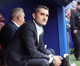 Valverde se quedará sin Sergi Roberto en Praga. EFE