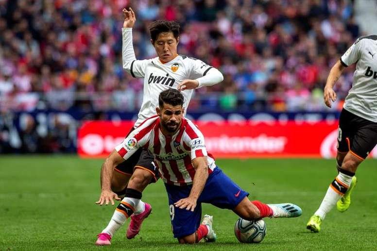 El Atlético jugará contra el Valencia. EFE