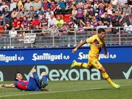 La réaction express du Barça : de la neuvième à la première place en neuf journées. EFE