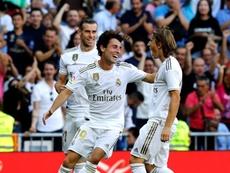 Novedades en el entrenamiento del Real Madrid. EFE