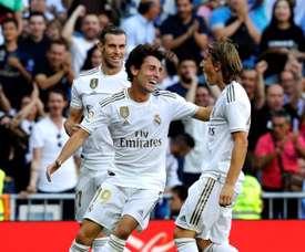 Le groupe du Real Madrid pour affronter Galatasaray en Ligue des Champions. EFE