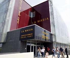 Le Barça ferme La Masia à cause du coronavirus. EFE