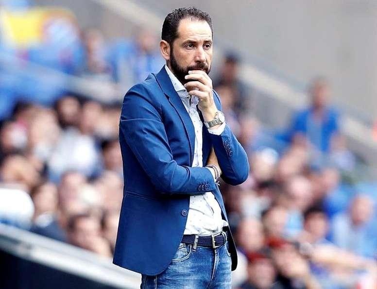 Machín pidió prudencia pese a la goleada. EFE/Andreu Dalmau
