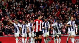 El Athletic lleva cuatro jornadas consecutivas sin ganar. EFE