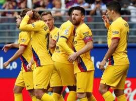 Elenco do Barça sai irritado e não fala com a imprensa. EFE