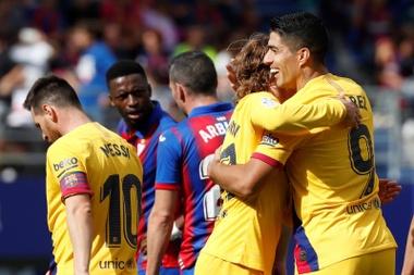 Barcelona estabilizou desempenhou e chegou à liderança do Espanhol. EFE/Javier Etxezarreta