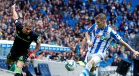 Odegaard a disputé tout le temps de jeu possible avec la Real Sociedad. EFE