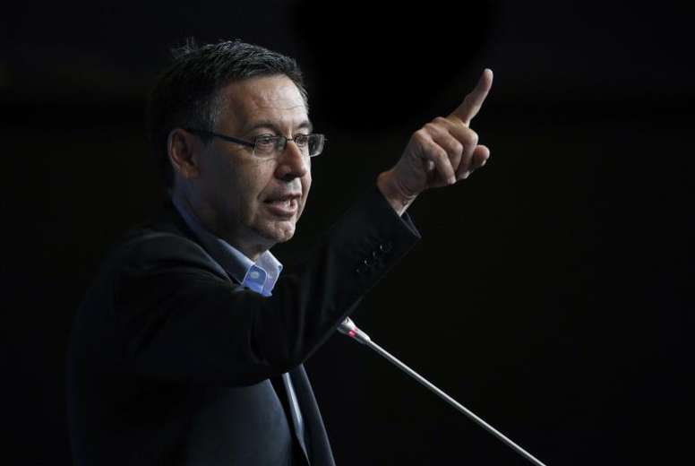 Bartomeu condenó la violencia en Barcelona. EFE