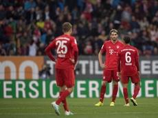El Bayern echa de menos la solidez de Javi Martínez atrás. EFE