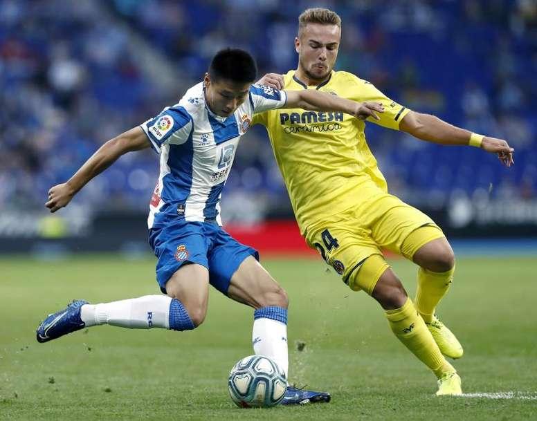 Al Espanyol no le sirvió con simplemente mejorar. EFE