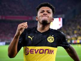 Jadon Sancho's exit in doubt. EFE