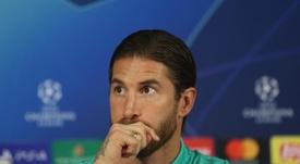 Ramos lanzó varios dardos envenenados en defensa de Zidane. EFE/EPA/ERDEM SAHIN