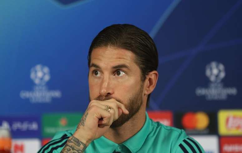 Ramos regretted that no one would go out and ratify Zidane. EFE/EPA/ERDEM SAHIN