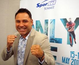 El excampeón mundial de boxeo, Óscar de la Hoya. EFE/Mar Vila/Archivo