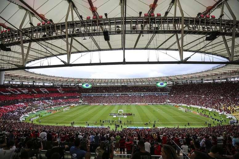 Maracanã está no top 10 dos estádios mais vibrantes do mundo. EFE/Antonio Lacerda