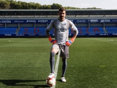 Javi Varas deja el fútbol profesional. EFE