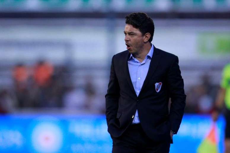 Gallardo respondió con contundencia a Riquelme. EFE/Demian Alday Estévez
