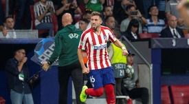 Héctor Herrera cuajó un gran partido para el Atlético de Madrid. EFE