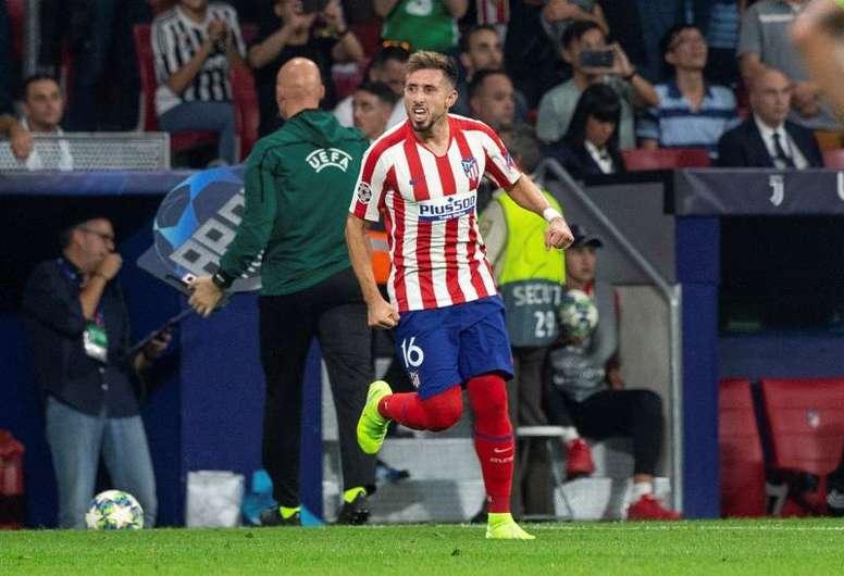 Herrera contó su difícil adaptación al Atlético. EFE/Rodrigo Jiménez