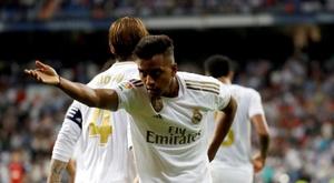 Rodrygo falou sobre seleção e Real Madrid. EFE