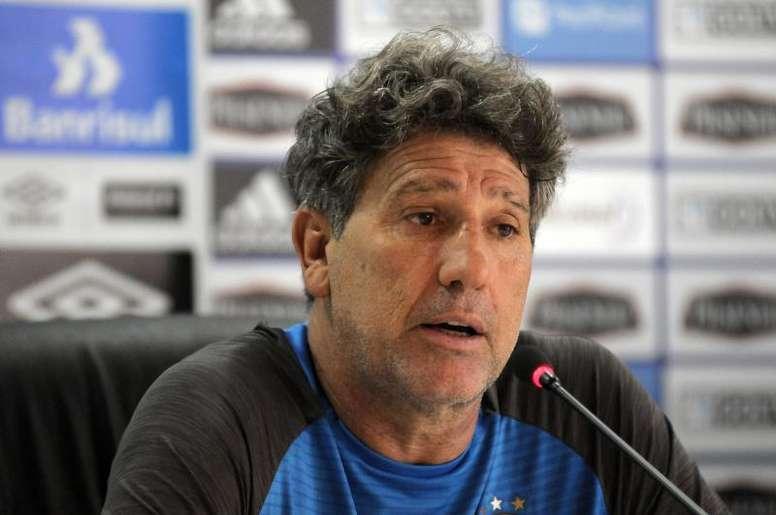 Renato Gaúcho foi bastante crítico com a atuação do Grêmio. EFE/Jaime Echeverria/Archivo