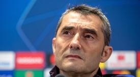 Valverde espera que lo de Umtiti solo sea un golpe. EFE