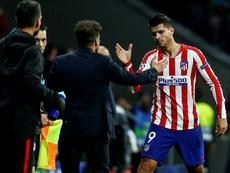 Morata, goleador. EFE
