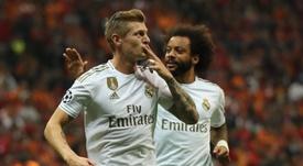 Kroos da la victoria al Madrid. EFE