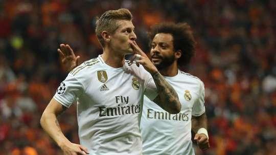 Real Madrid volta a ganhar na Champions após oito meses. EFE/EPA/TOLGA BOZOGLU